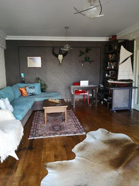 Wonderful designed home 200 mt away from bosphorus