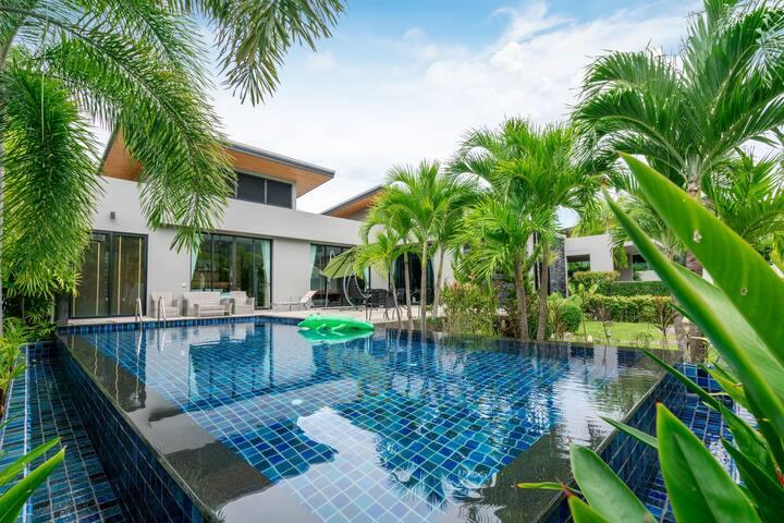 Villa 3BR. Zen Baan Bua   Nai Harn