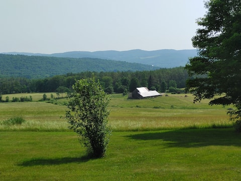 Vermont private retreat with gorgeous views.