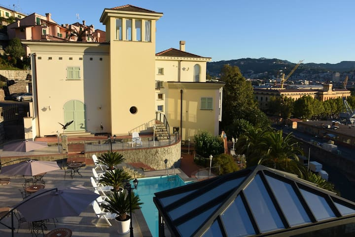 Studio for 3 person in Cinque Terre area