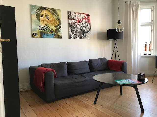 Comfy flat in the heart of Aarhus