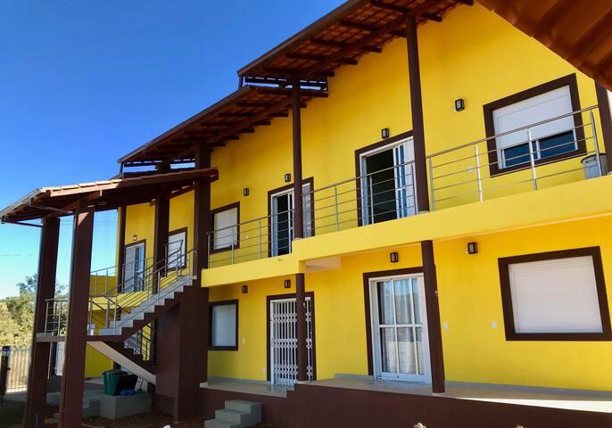 Fachada Lateral dos Flats