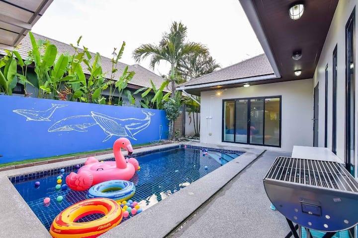 Love Love Huahin Pool villa - Near Beach 2km.