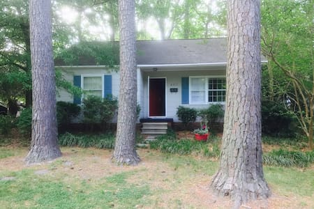 Comfy Downtown Cary Cottage - Cary - Talo