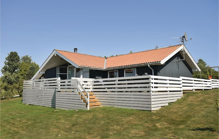Holiday cottage with 4 bedrooms on 104m² in Tranekær