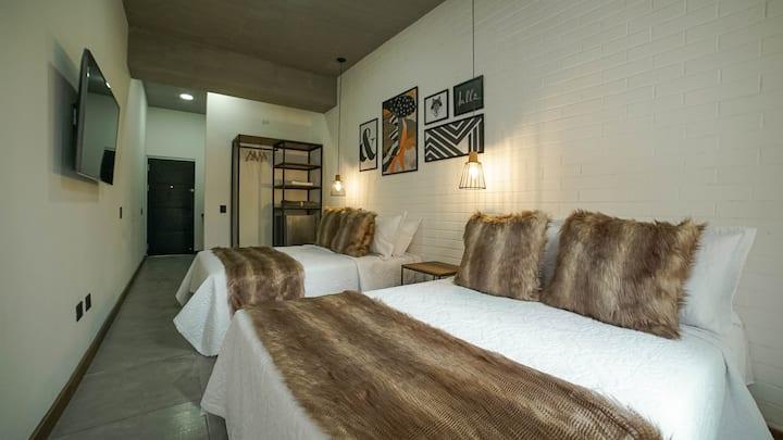 Laureles Loft 32 Private rooms doble bed