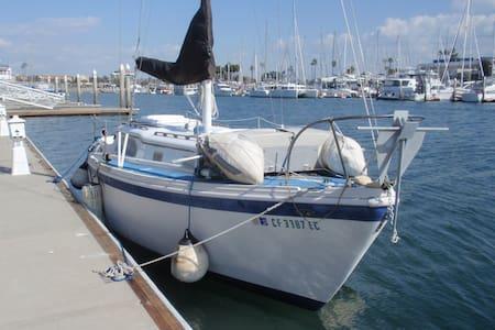 Classic Cruising Boat. - San Diego