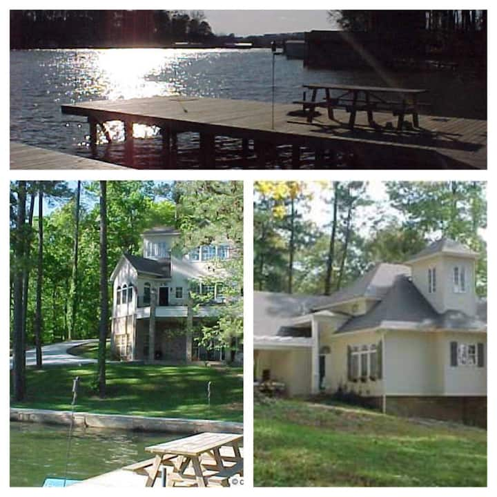 Wyeth House Lake Guntersville   6 bed 4 baths