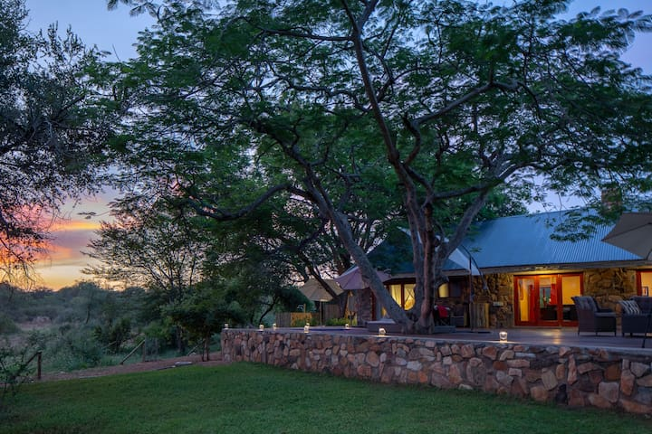 Luxury Safari Lodge in Kruger Park Nature Reserve