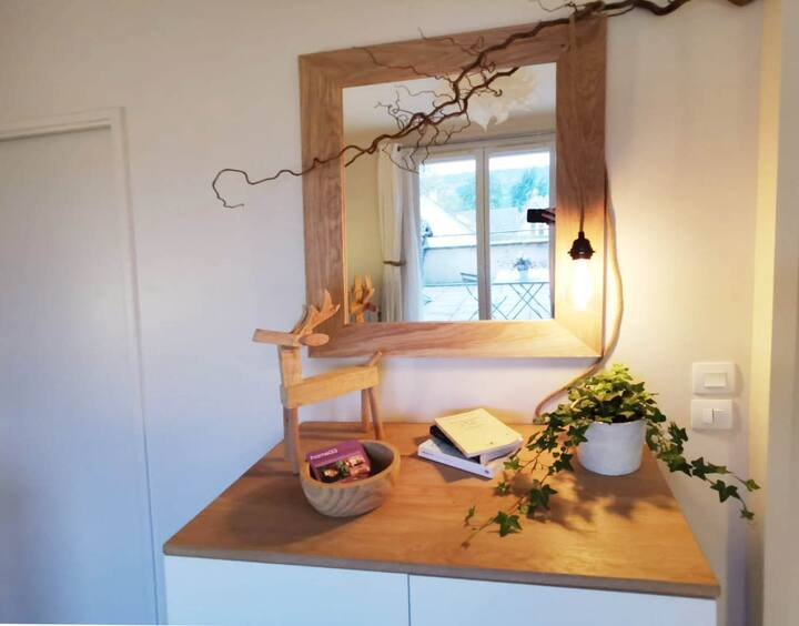 Studio COTE SUD avec terrasse