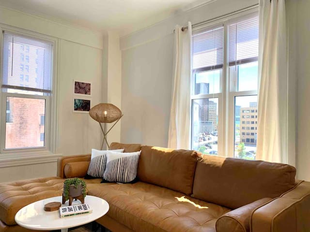 Glam Downtown Historic Revival w/ Modern Appeal