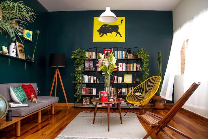 The jungle, Condesa - Quetzal Room