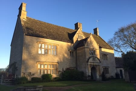 Beautiful Cotswold manor house - Upper Swell - Pousada