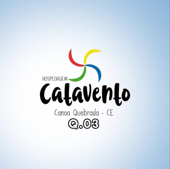 Suíte em Canoa Quebrada- HOSPEDAGEM CATAVENTO n.3