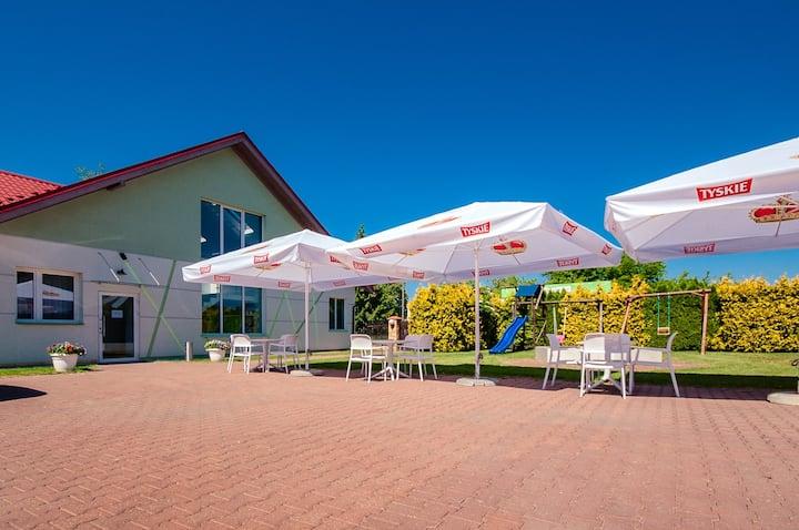 Restauracja i Villa Tymotka nad Zalewem