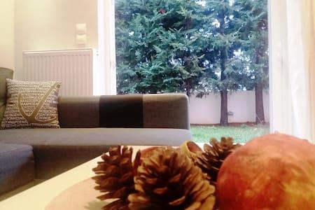Cosy apartment 20' from airport - Gerakas - Pis