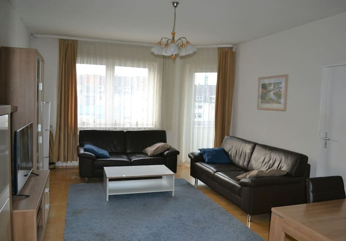 Fero's komfortable 3-ZiWhg Stadtmitte - Darmstadt - Appartement