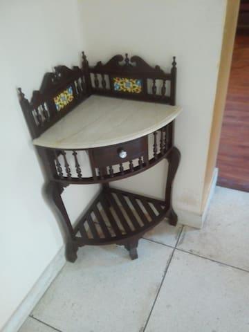 A corner in the vila