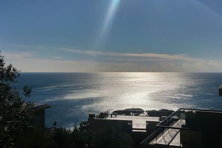 Pieve Ligure - relaxing garden and sea view house - Pieve Ligure