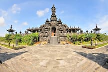 Visit around: Balinese Temple in Denpasar. Big park is around, ppl doing jogging, free class of Yoga in evening, or just picnic ;)
