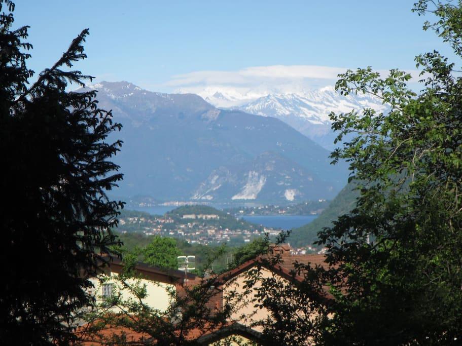 Lago Maggiore und Monte Rosa