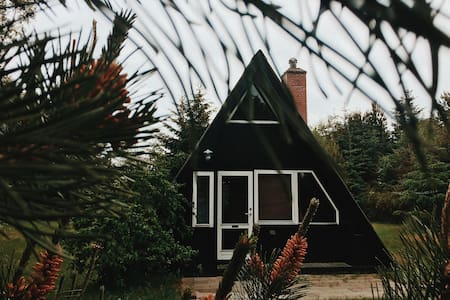 A-frame cabin located 15 minutes walk from the sea