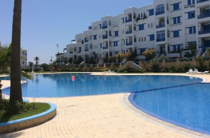 Jawhara Smir- 10min from the beach + pool