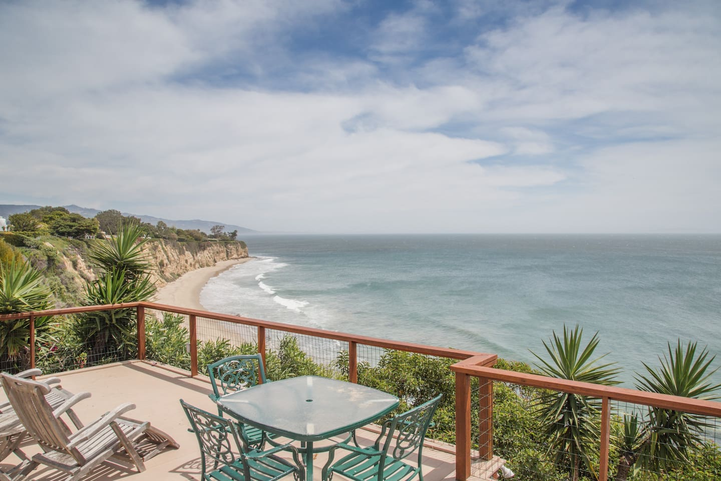 Front Deck View of Little Dume