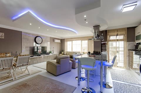 Elegantly Decorated Modern Private Room