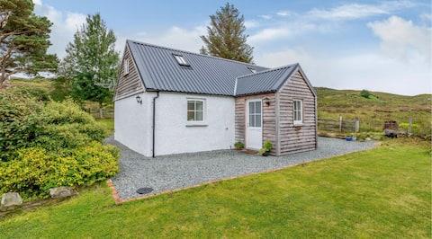 Schönes modernes Ferienhaus in der Nähe von Plockton und Skye