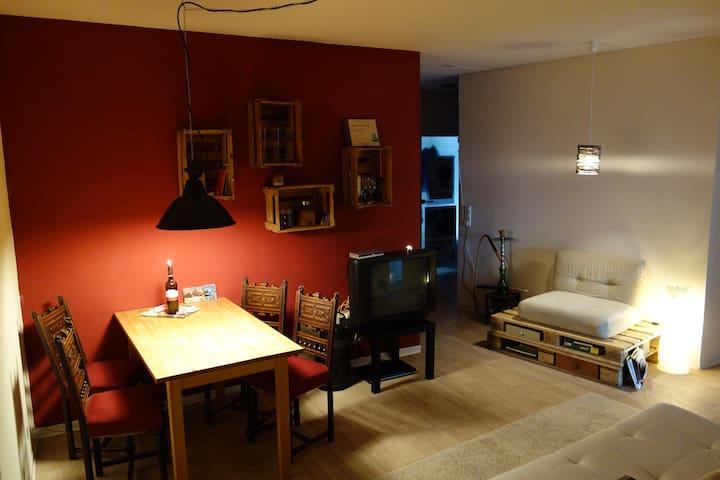 Apartment im Luftschutzbunker - Aachen - Wohnung