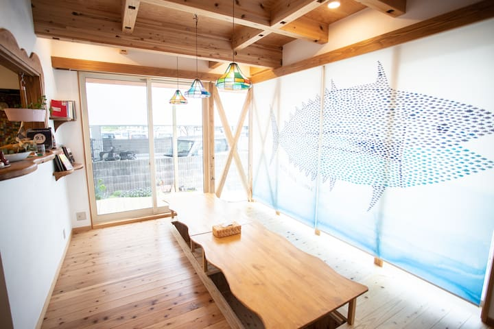 D.I.Y GUEST HOUSE ☆  Private room for 3~4 person