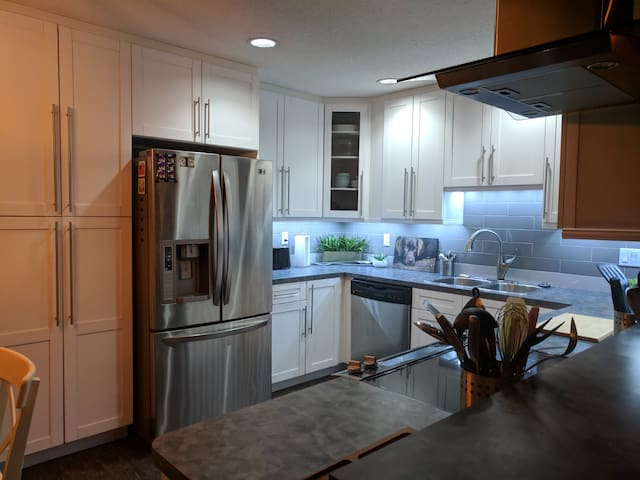 Renovated Condo: Edge of Downtown & River Valley