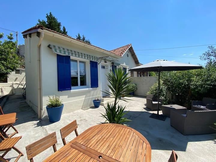 Maison avec jardin arboré - Marseille
