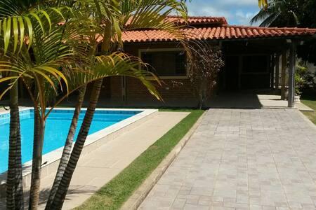 O caribe brasileiro em alagoas - Barra de sao miguel - Casa