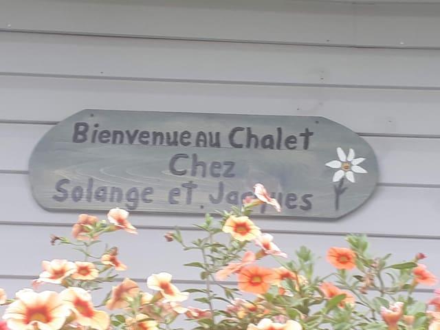 Chalet cozy chez Solange et Jacques