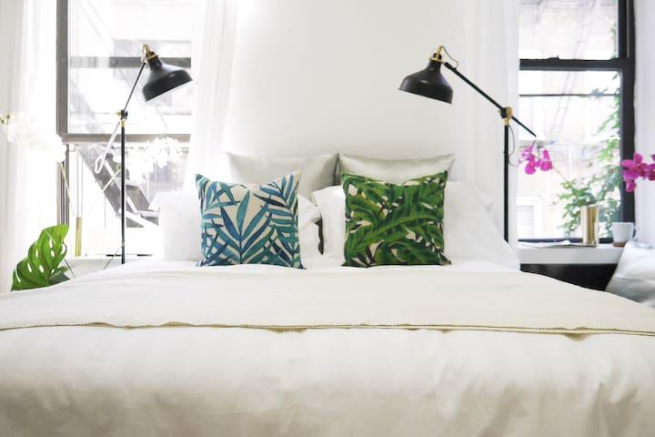 Upper Eastside Artist's home - New York - Lejlighed