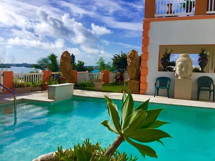 """THE POOL SUITE"" at House of Aset Bermuda"