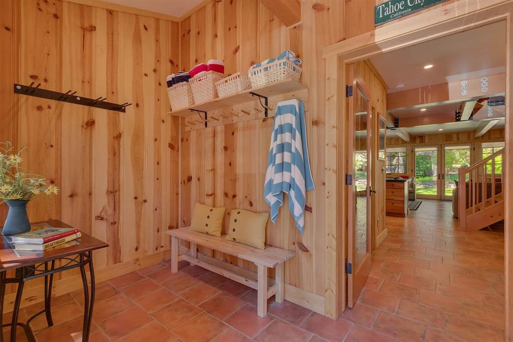 Mud Room for skis and boots
