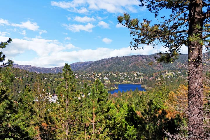 STUNNING VIEWS!! COME EXHALE!!! - Crestline - Casa