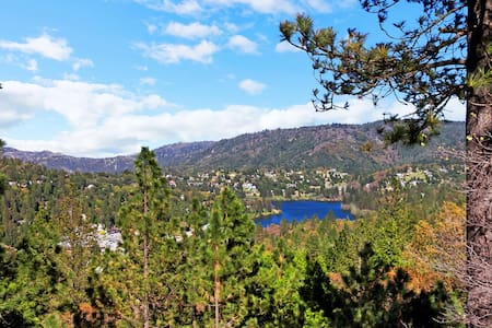 SERENE~PEACEFUL~COME EXHALE! VIEWS! - Crestline