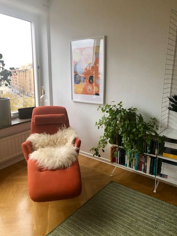 Private room in apartment in central Malmö