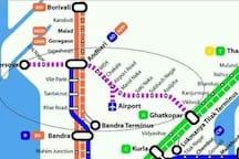 Mumbai Metro Starts from our place Ghatkopar