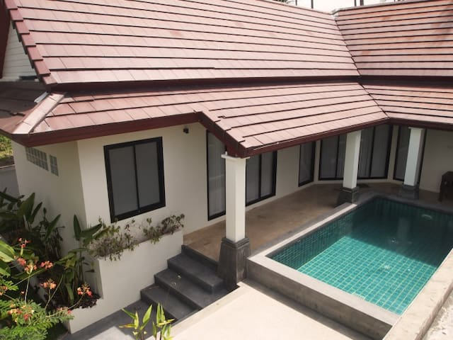 2 Bedroom house with Private pool in Samui