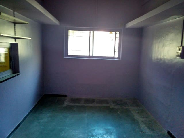 Unfurnished bungalow under renovation in Nasik
