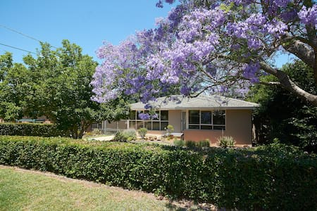 Centrally located  private 3 BR house & grounds