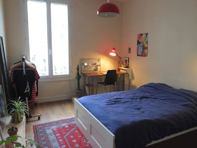 Nice bedroom in the heart of Paris - Le Marais