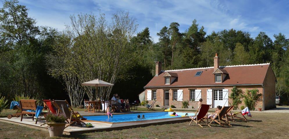 Maison Solognote au coeur de la forêt - Ménestreau-en-Villette - House