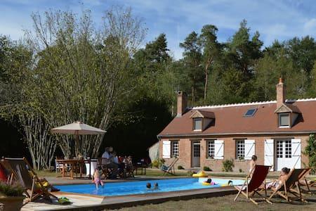 Maison Solognote au coeur de la forêt - Ménestreau-en-Villette