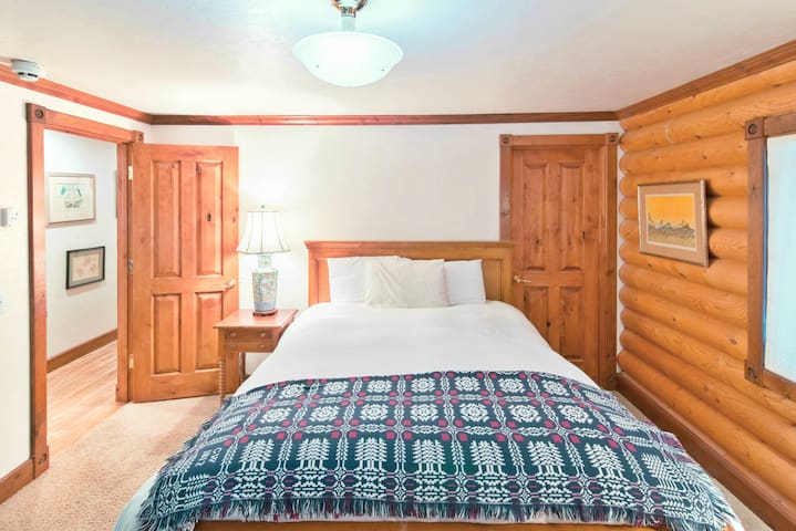 Comfortable, clean beds with new pillows and lines, will be a welcome site after a long day of hiking, fishing, skiing, or exploring.
